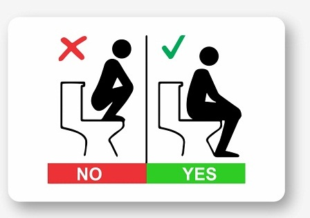 biển báo toilet